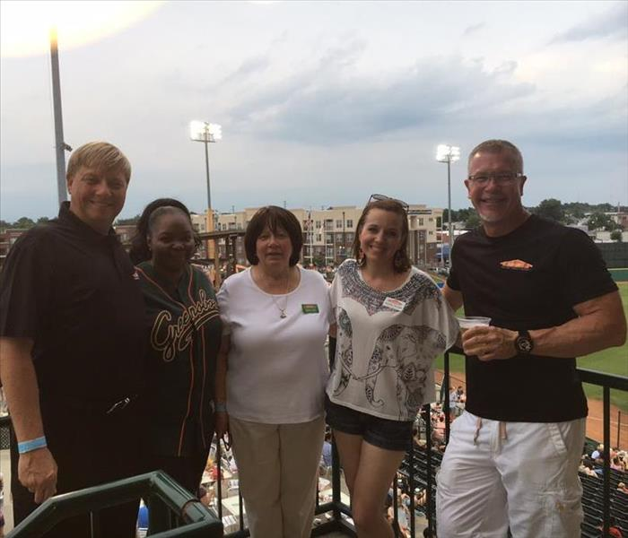 Community SERVPRO night at the Grasshoppers game!